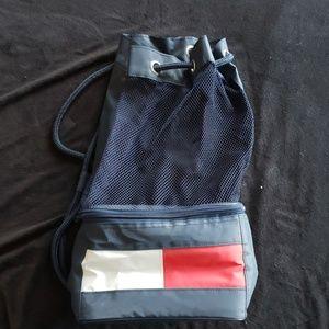 Vintage Tommy Hilfiger cooler beach bag